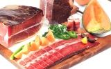 Suva svinjska pršuta u kocki vakuum / Dry Pork Prosciutto in Cubes Vacuum