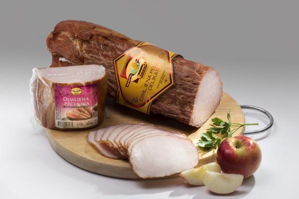Dimljena svinjska pečenica