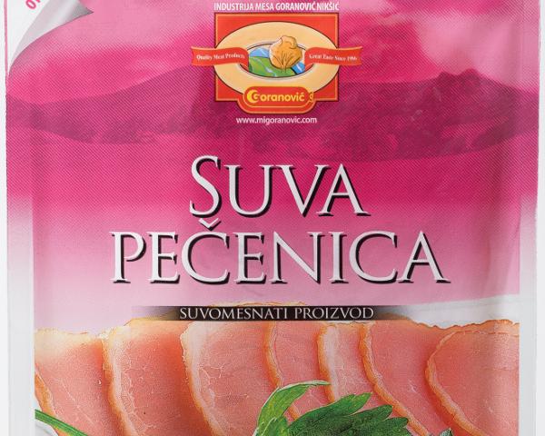 Goranović suva svinjska pečenica - narezana 100 g