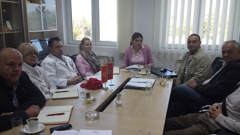 """Sastanak sa predstavnicima projekta """"Nacionalni program za čistiju proizvodnju u Crnoj Gori"""""""
