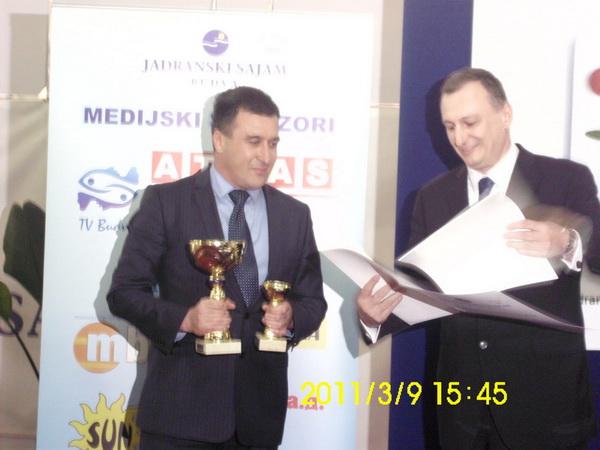 Industrija mesa Goranović - Apsolutni šampion kvaliteta na 37. sajmu hrane u Budvi, četvrtu godinu zaredom