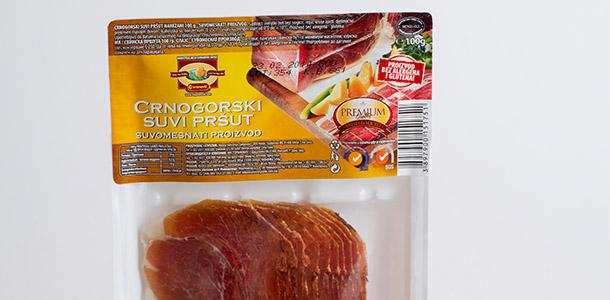 Suva svinjska pršuta - narezana 100 g