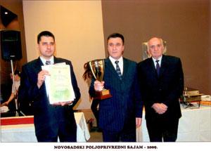 Industrija mesa Goranović - apsolutni šampion kvaliteta na 76. međunarodnom poljoprivrednom sajmu u Novom Sadu